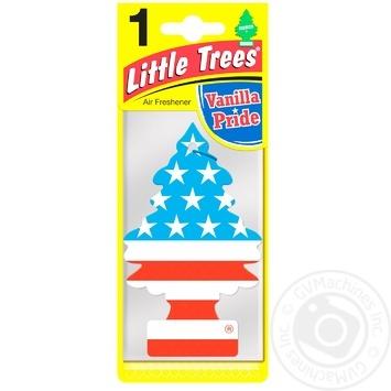 Освежитель воздуха Little Trees Vanilla Pride для автомобиля - купить, цены на Таврия В - фото 1