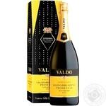 Вино ігристе Valdo Marca Oro Valdobbiadene Prosecco Superiore Dogg біле сухе 11% 1,5л