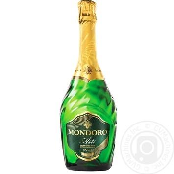 Вино игристое Mondoro Asti белое сладкое 7,5% 0,75л - купить, цены на Novus - фото 1