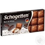 Шоколад Schogetten молочный черно-белая начинка 100г