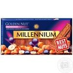 Millennium Golden Nut Chocolate milk with whole hazelnuts and raisins 100g - buy, prices for Auchan - image 1