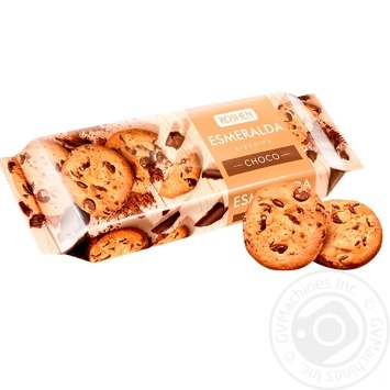 Roshen Esmeralda with cocoa-glaze cookies 150g - buy, prices for MegaMarket - image 1