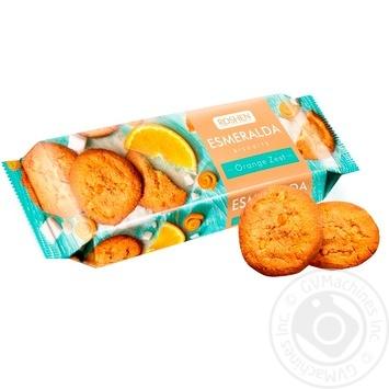 Roshen Esmeralda with orange cookies 150g