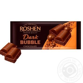 Roshen air dark chocolate 80g - buy, prices for Novus - image 2
