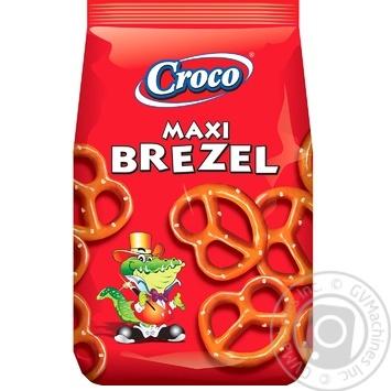 Брецелі Croco максі солоні 750г - купити, ціни на Метро - фото 1