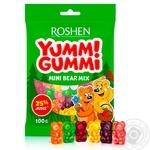 Конфеты желейные Roshen Yummi Gummi Mini Bear Mix 100г - купить, цены на Метро - фото 1
