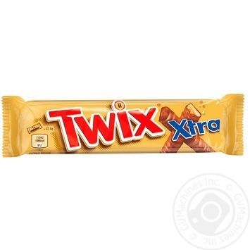 Twix in milk chocolate with caramel cookies 75g - buy, prices for Novus - image 1