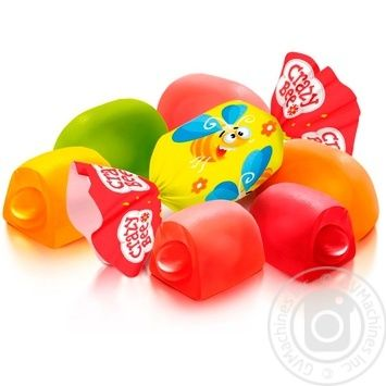 Roshen Shalena bdzhilka Candy jelly fruits with fruit flavors weighing
