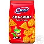 Крекери Croco зі смаком сиру 400г