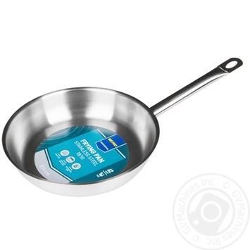 Сковорода Metro Professional индукционная из нержавеющей стали 24см - купить, цены на Метро - фото 1
