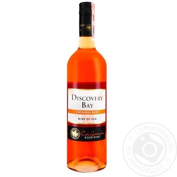 Вино Discovery Bay Zinfandel розовое полусухое 11% 0,75л