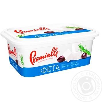 Premialle Cheese feta 45% 230g - buy, prices for Metro - image 1