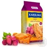 Печенье Roshen Karolina сдобное с виноградом и ванильным ароматом 225г - купить, цены на Novus - фото 1