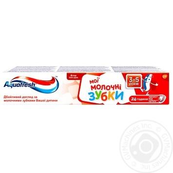 Зубная паста Aquafresh Мои молочные зубки 50мл - купить, цены на Восторг - фото 1