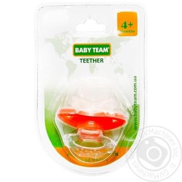Пустышка-прорезыватель Baby Team - купить, цены на Novus - фото 5