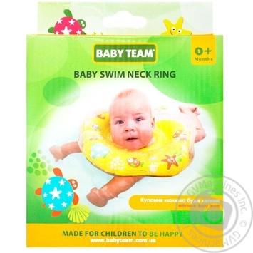 Круг Baby Team для купания детей от 0мес