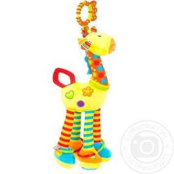 Игрушка-подвеска Baby Team Pendant Toy Giraffe с погремушкой