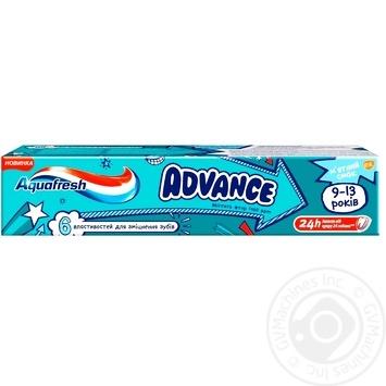Aquafresh Advance Toothpaste baby 9-13 years 75ml - buy, prices for Furshet - image 1