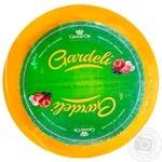 Сир Gardeli Гауда з оливками та томатами 50% ваговий