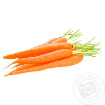 Морковь молодая первый сорт весовая