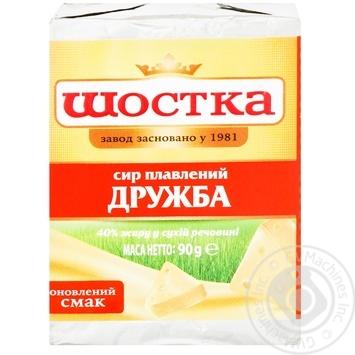 Сыр Шостка Дружба плавленый 50% 90г - купить, цены на Ашан - фото 6