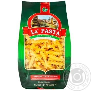 La pasta fusilli pasta 400g - buy, prices for MegaMarket - image 1
