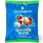 Драже Millennium Golden Nuts мигдаль у молочному шоколаді 50г