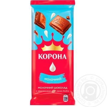 Шоколад Корона молочный 85г