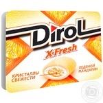 Жевательная резинка Dirol X-Fresh ледяной мандарин 18г