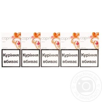 Сигареты Capri Super Slims Bianko с фильтром