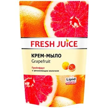 Fresh Juice With Grapefruit For Body Liquid Soap - buy, prices for Novus - image 1