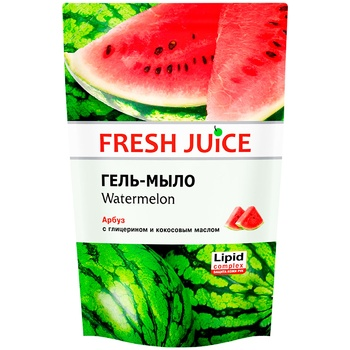 Fresh juice Liquid soap watermelon do-pack 460ml - buy, prices for Metro - image 1
