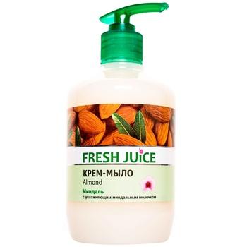 Крем-мыло жидкое Fresh juice Миндаль 460мл