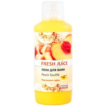 Fresh Juice Peach Souffle Bath Foam 1l - buy, prices for Novus - image 1