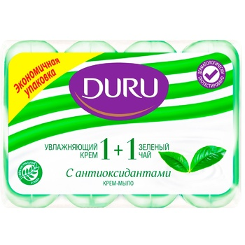 Duru Green Tea Hard For Body Soap - buy, prices for CityMarket - photo 1