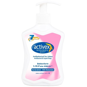 Activex moisturizing antibacterial liquid soap 300ml - buy, prices for Novus - image 1
