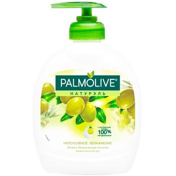 Palmolive Naturals Liquid soap Intensive Moisturizing Olive and Moisturizing Milk 300ml - buy, prices for EKO Market - photo 1