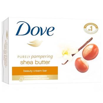 Крем-мило Dove Обійми ніжності 100г - купити, ціни на Метро - фото 1
