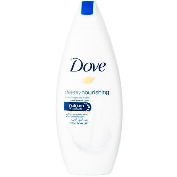 Dove Shower cream gel Deep nutrition and moisturizing 250ml