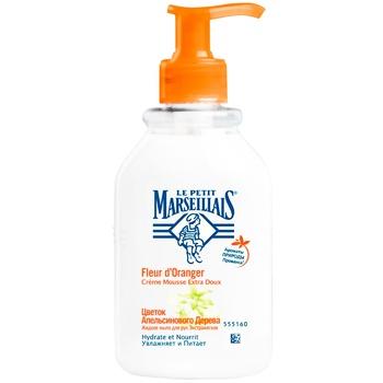 Мыло жидкое для рук Le Petit Marseillais цветок апельсинового дерева 300мл - купить, цены на Восторг - фото 1