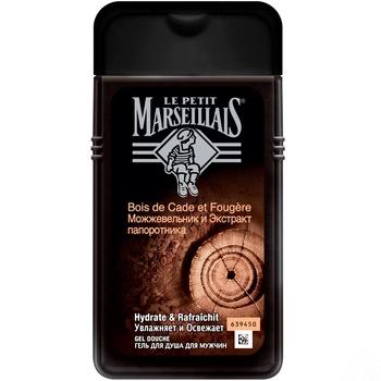 Гель для душу Le Petit Marseillais для чоловіків Ялівець та екстракт папороті 250мл - купити, ціни на Novus - фото 1
