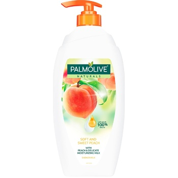 Palmolive Shower gel Naturel Soft and sweet peach 750ml - buy, prices for Auchan - photo 1