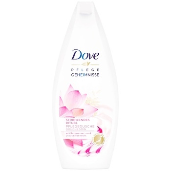 Крем-гель для душу Dove Strahlendes Ritual Сяйво шкіри 250мл - купити, ціни на Novus - фото 1