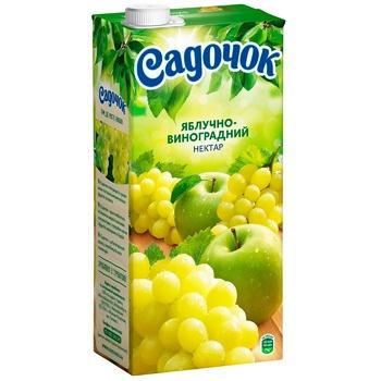 Сок Садочок Виноградно яблочный 1,93л - купить, цены на Метро - фото 1