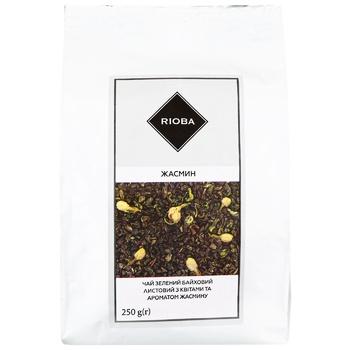 Чай зеленый Rioba жасмин 250г