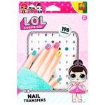 Набір наліпок L.O.L Surprise Модний лук для нігтів