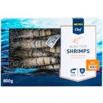 Metro Chef frozen shrimp tiger 8/12 800g