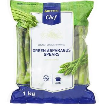 Спаржа METRO Chef зелена заморожена 1кг