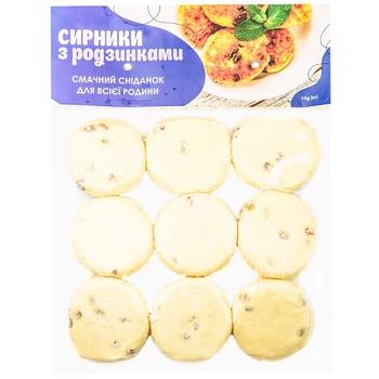 Gulfstream with raisins precooked cheese pancakes 1kg