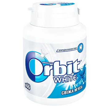 Orbit White Fresh Mint  chewing gum 64g - buy, prices for Tavria V - image 1
